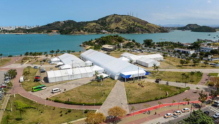 Veja como foi o primeiro dia de Reditec e WFCP em Vitória