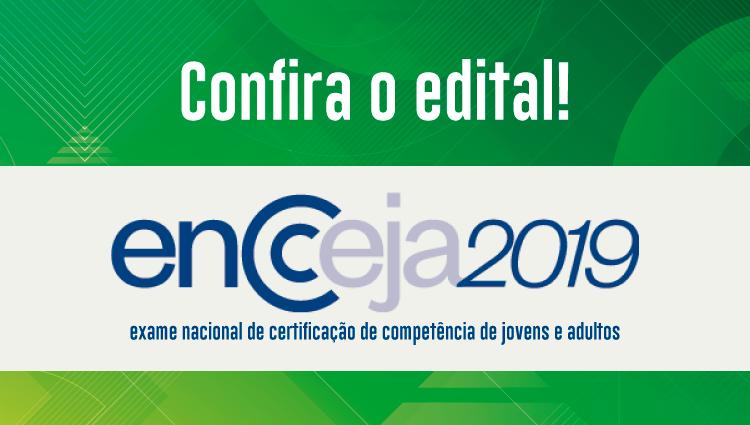 Ifes divulga edital para certificação do Encceja