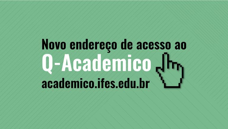 Q-Acadêmico possui novo endereço para acesso via web