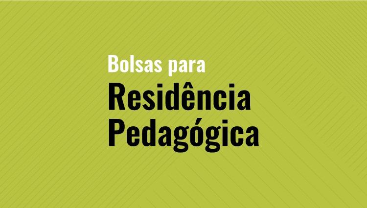 Programa de Residência Pedagógica seleciona bolsistas